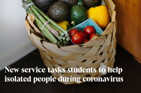 New service tasks students to help isolated people during coronavirus