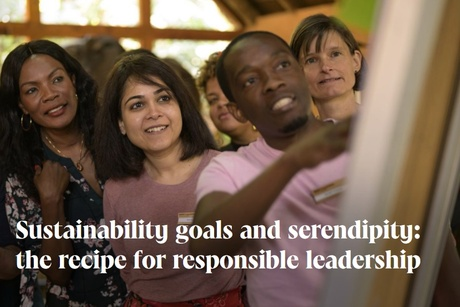 Sustainability goals and serendipity: the recipe for responsible leadership